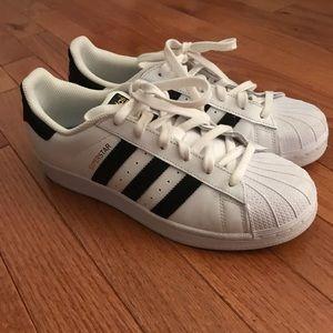 adidas Superstar Sneakers, Worn Twice!